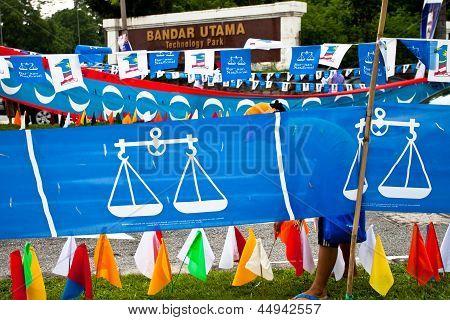 Malaysian General Election 2013 Banner War