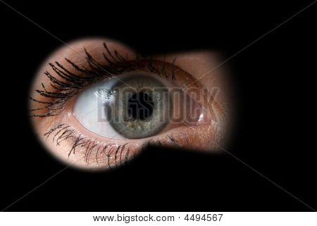 Look Through A Keyhole