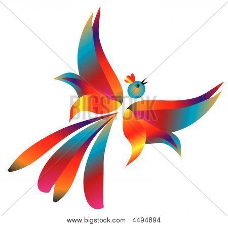 Free Flight Of Fantastic Birds