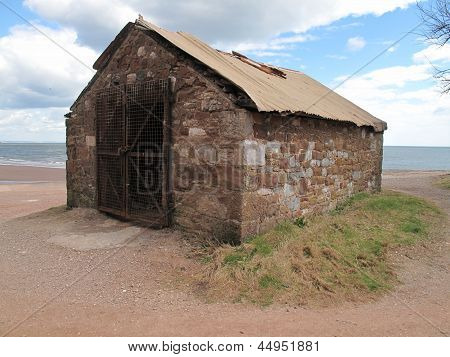 Old Outbuilding Seascape