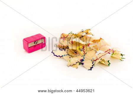 Pink Pencil Sharpener