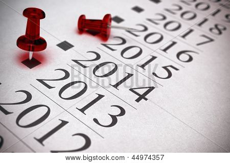 Year 2014 Two Thousand And Thirteen.