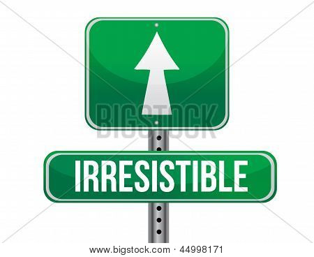 Irresistible Road Sign Illustration Design