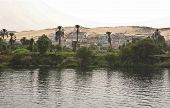 This village was close to the Nile Shore East Bank poster