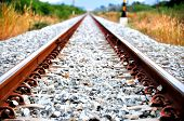 this is railway in thailand go to branpra poster