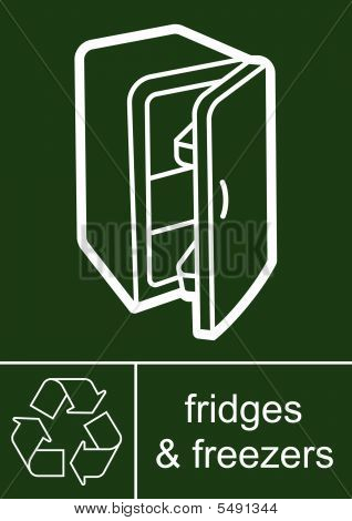 Sign fridges freezers