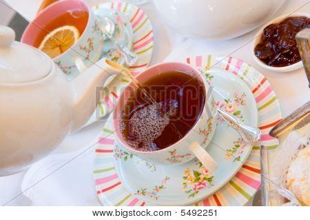 Afternoon Tea On Verandah