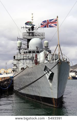 Hms Liverpool, A Type 42 Destroyer,of The Royal Navy.