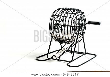 Bingo Cage With Number Balls