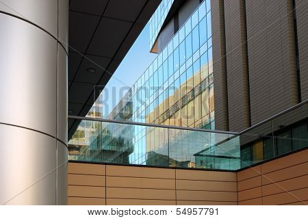 Office Buildings Close-up