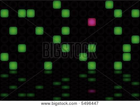 Abstract Eletric Panel Background