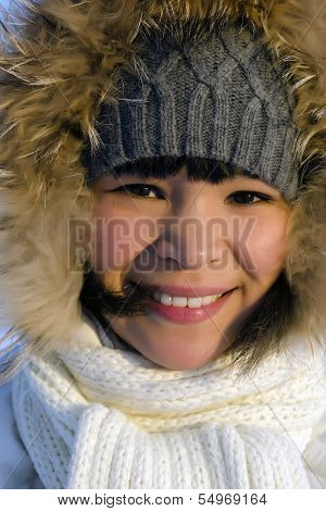 Young Chukchi woman