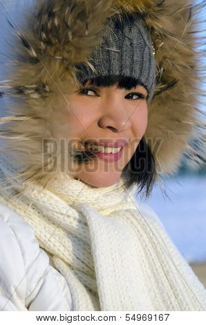 Young chukchi woman
