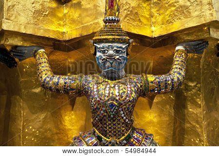 Mythological Figure Of The Indian Epic Ramayana, The Demon.