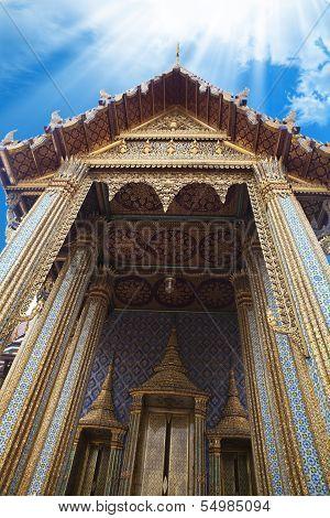 Grand Palace, Emerald Buddha, Thailand