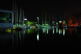 Night Port Shot