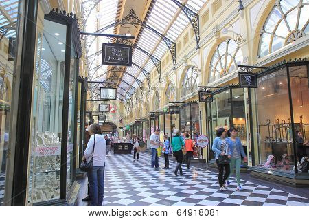 Shopping in Melbourne