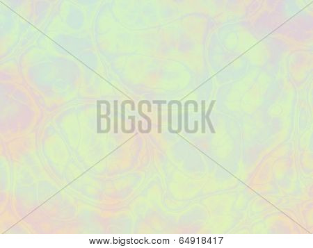 Multicolored pastel background with abstract bubbles