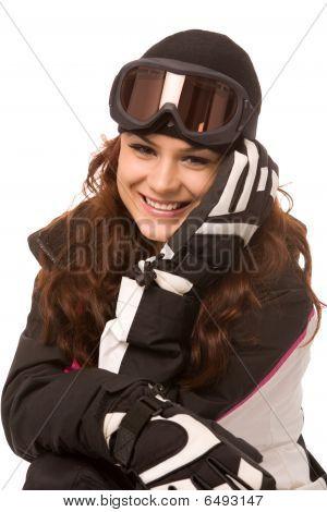 Pretty Woman In Ski-wear