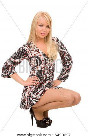 Fashionable Blond Woman