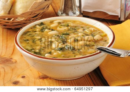 Bowl Of Healthy Soup