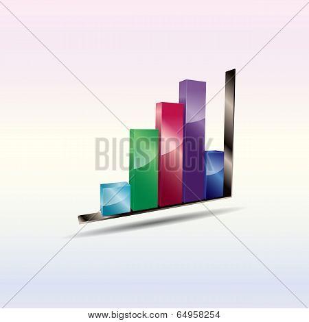 Abstract Bar Chart.
