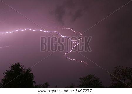 Lightning in Missouri