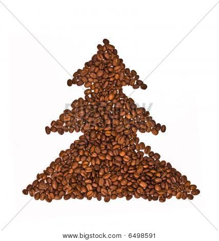 Coffee Xmas Tree