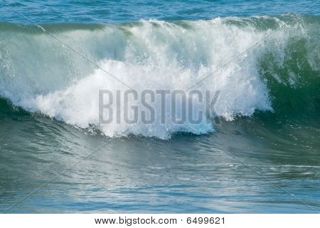 Ocean Waves And Surf