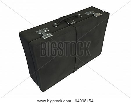 Black Leather Suitcase