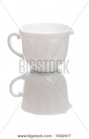 White Milk Jug