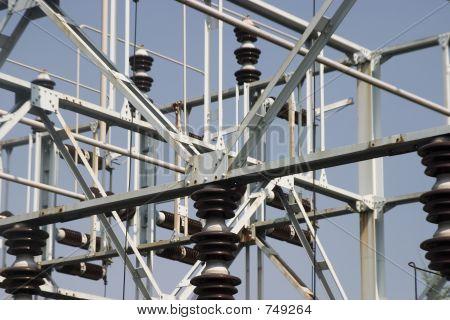 electrical transformer yard equipment