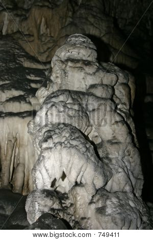 Stalactite in the cave