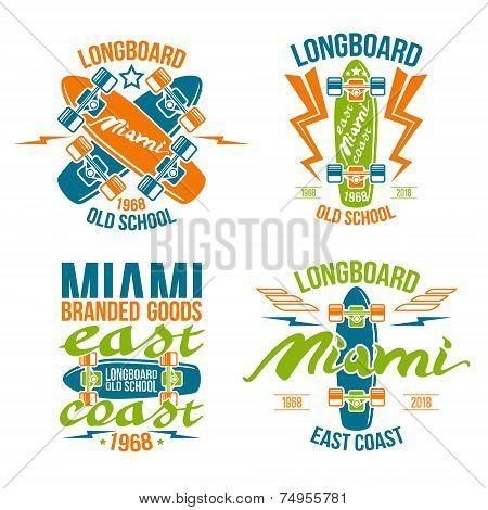 Longboard Emblems