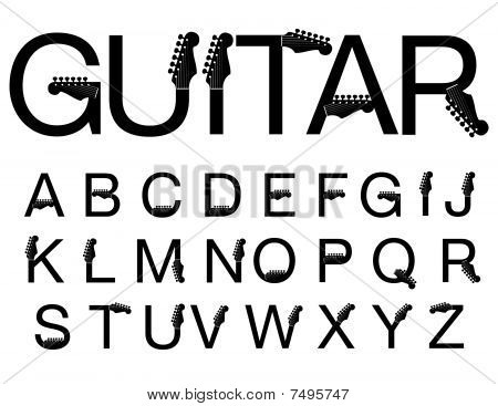 A new and exciting typeface