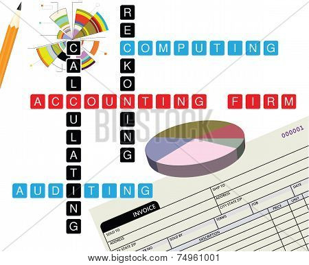 Promotional Illustration Accounting Firm