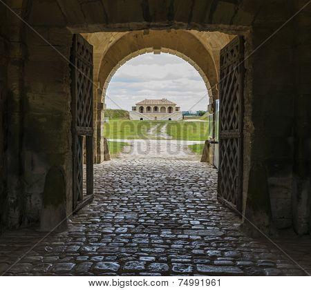 Entrance Of Fortification Cussac-fort-medoc