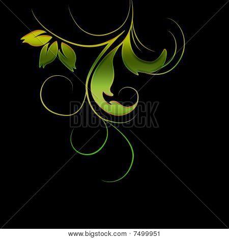 swirly foliage