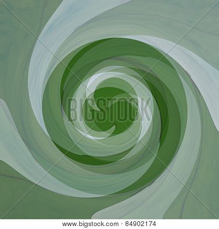 Abstract Background Twisting Of Green