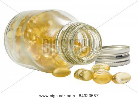 Close-up of a pill bottle