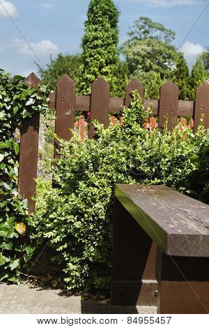 Fence of a restaurant, Adare, County Limerick, Republic of Ireland