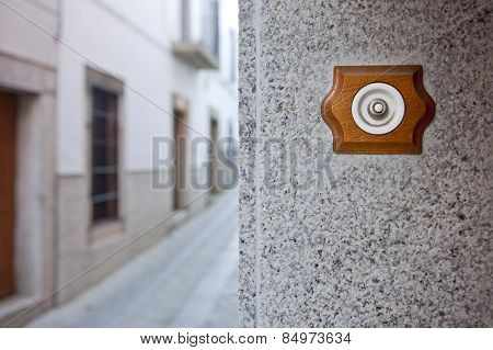Ancient Style Doorbell Button