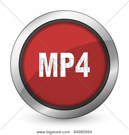 mp4 red icon