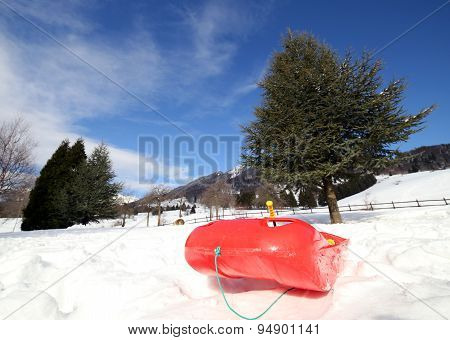 Bob For Playing In The Snow In Mountains