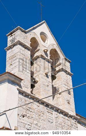 Church of Carmine. Barletta. Puglia. Southern Italy.