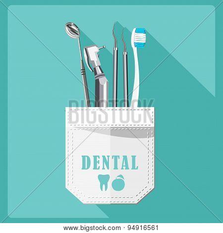 Dental care symbols