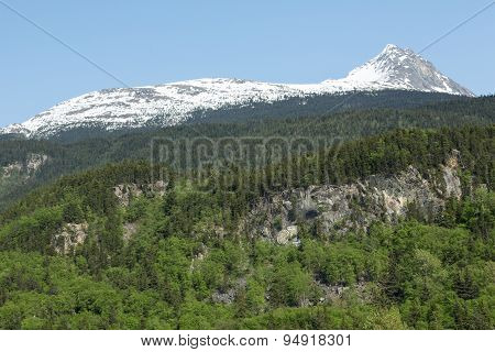 Skagway's Mountains and Forests