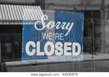 Close Signboard