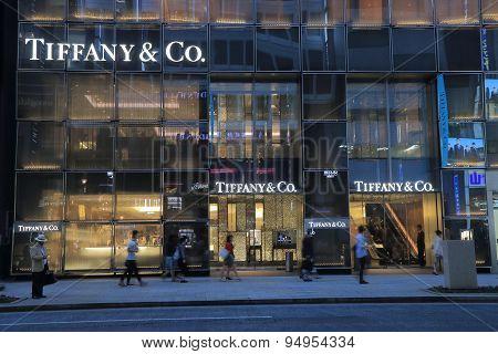 Tiffany and Co fashion brand Ginza Tokyo