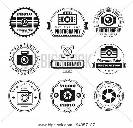 Vector Collection of Photography Logo Templates.